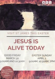 Church handout for Easter