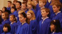 children singing choir