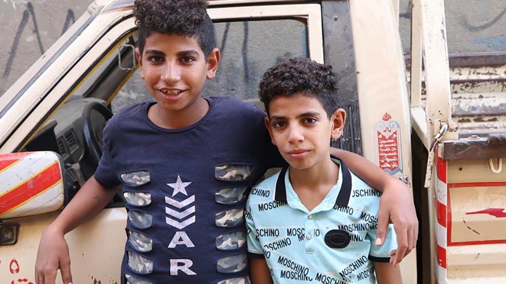 Egypt Christian boy