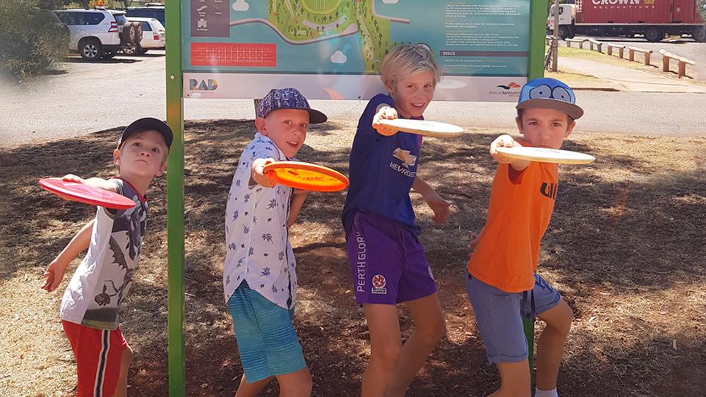 Disc Golf in the Pilbara