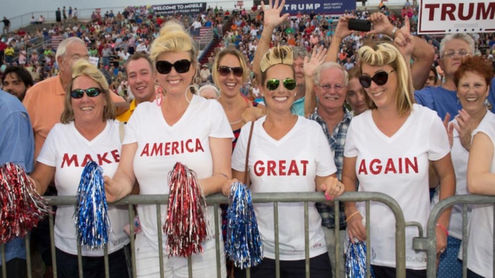 women support Trump
