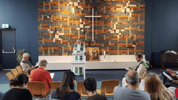 Worship at Bethel Church in The Hague has continued for more than a month.