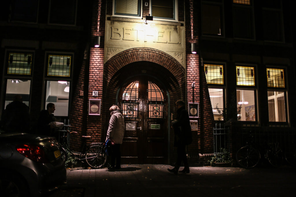 The continuous church service at Bethel Church in The Hague has attracted hundreds of volunteers to keep the service running all through the night.