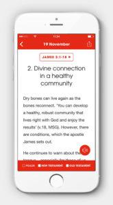 Bible in One Year screen shot