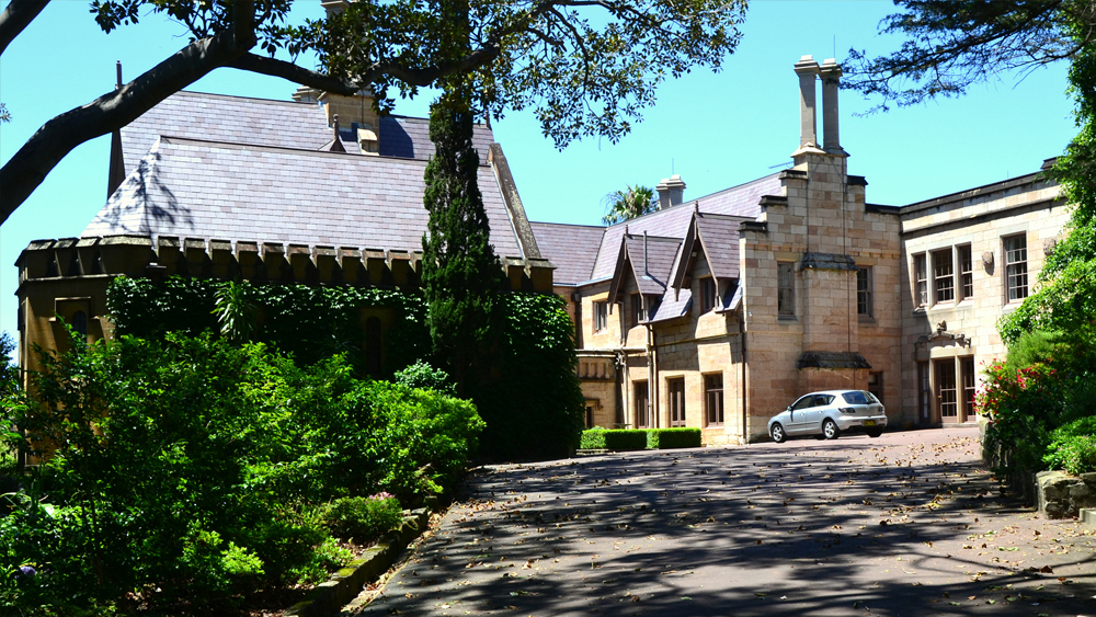 Bishopscourt, previous home to Sydney Archbishops