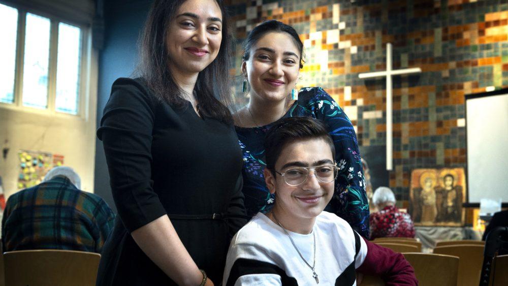 Hayarpi (21), Warduhi (19 ) and Seyran (15) Tamrazyan: are finally free.