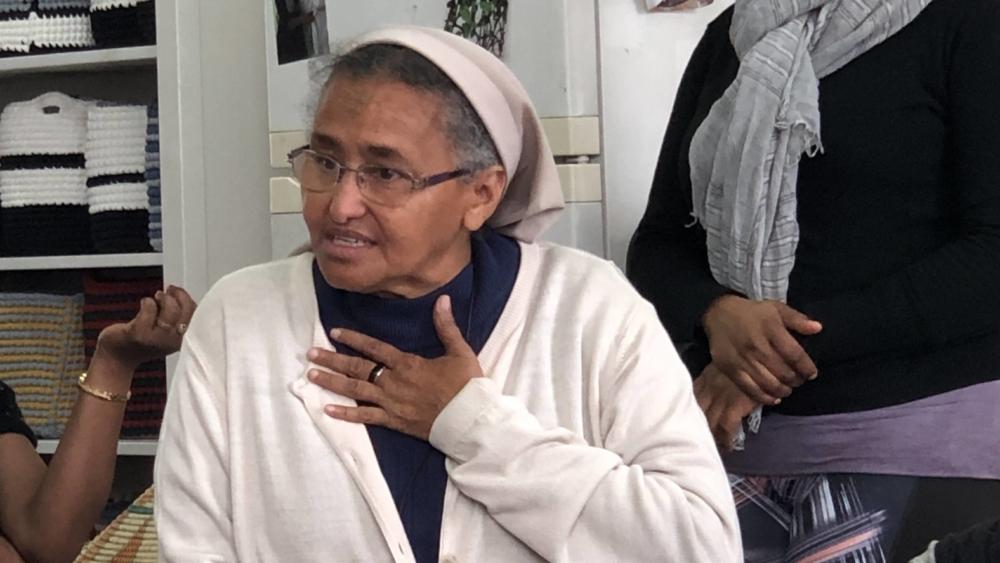Sister Aziza at Kuchinate