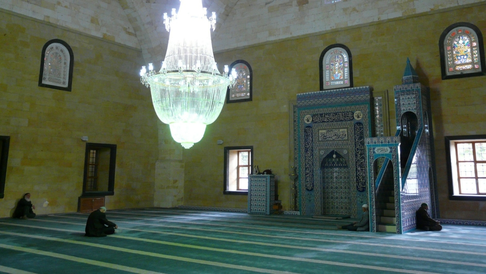 mosque prayer room