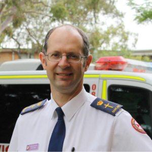 Reverend Paul McFarlane is the Senior Chaplain at NSW Ambulance.