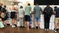 Australians vote