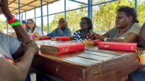 Kriol New Edition Bible being workshopped at Katherine Christian Convention