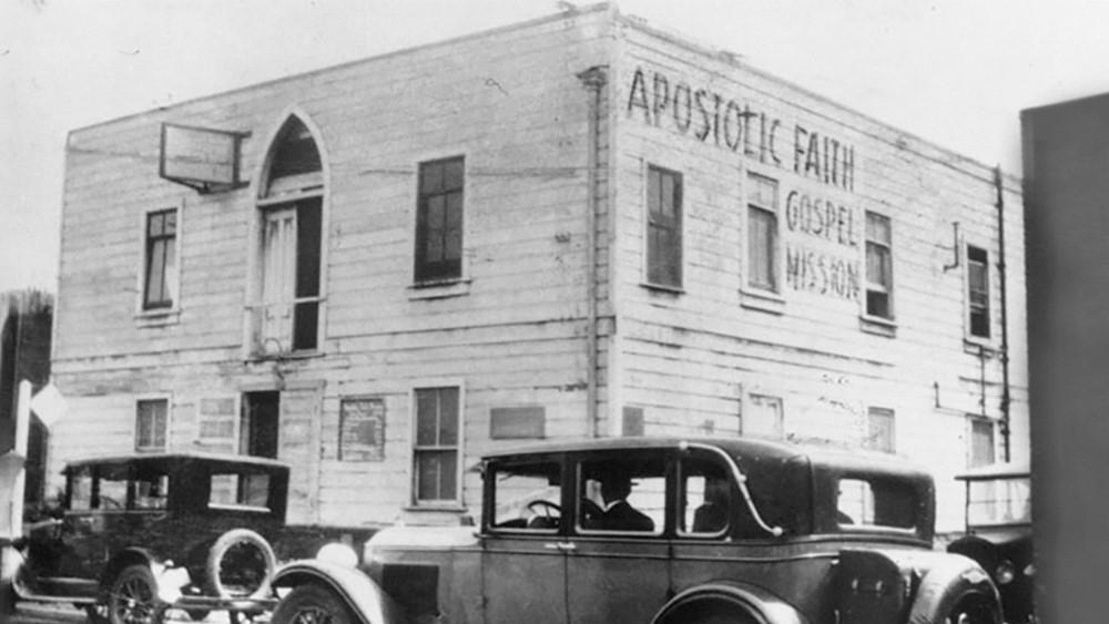 Apostolic Faith Gospel Mission 1907, Azusa St, Los Angeles, California, United States