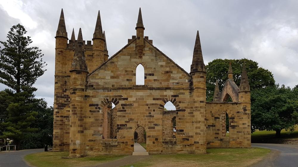 convict church Port Arthur