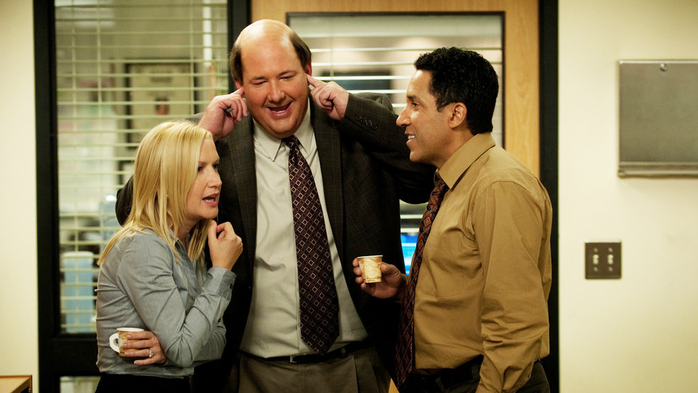 Workplace relations go wrong in the hit US TV series The Office