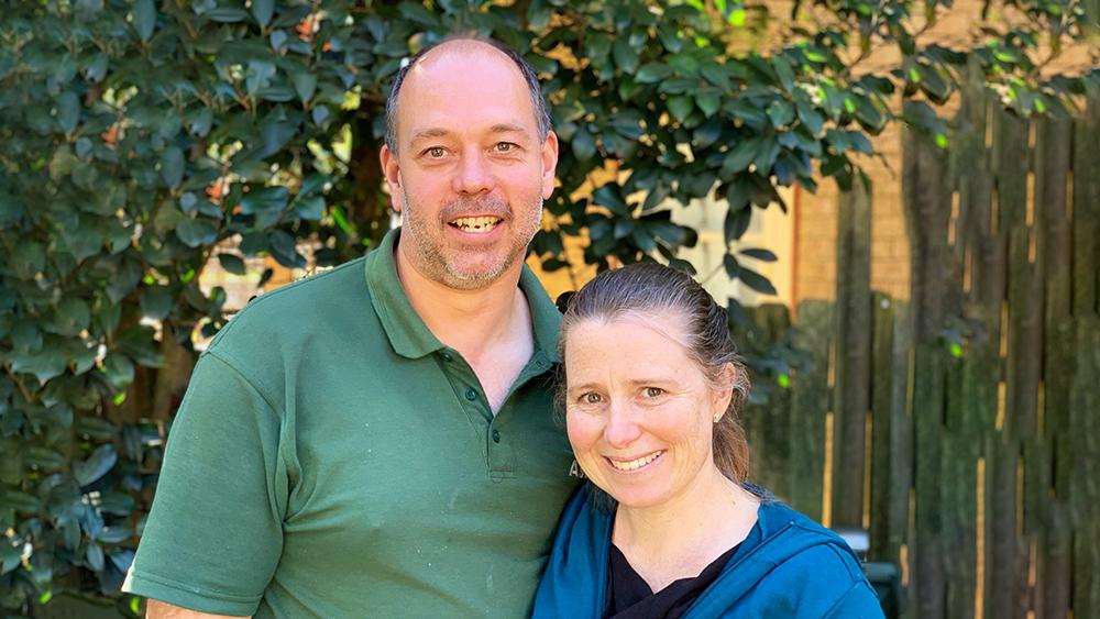 Brian and Vanessa Stuckings