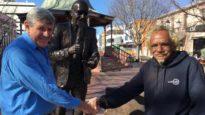 Bill Ferguson statue