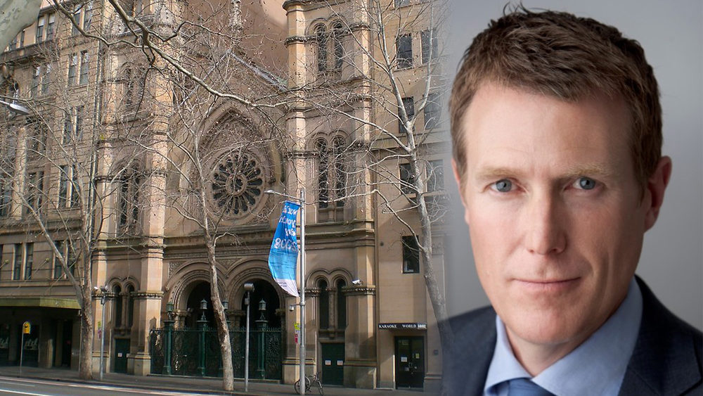Attorney-General Christian porter and the Great Synagogue