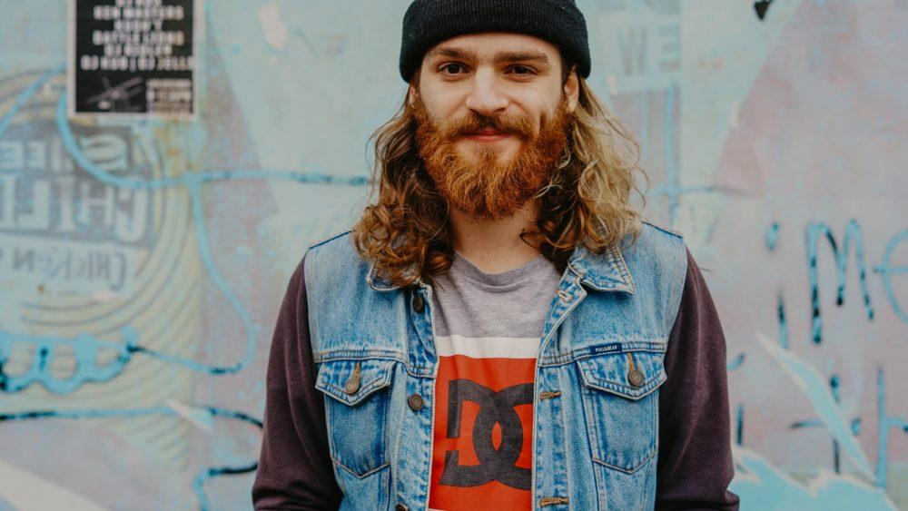 Millennial with beard