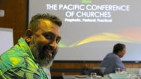 James Bhagwan at the Pacific Conference of Churches