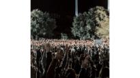Curvine Brewington's instagram shot of hands raised in the altar call.