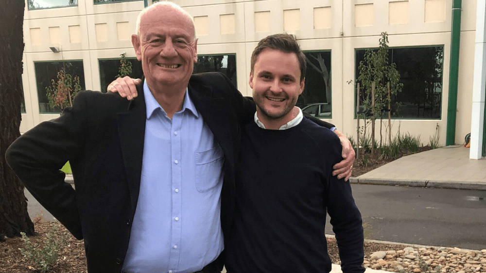 Tim Costello and Tim Middlemiss