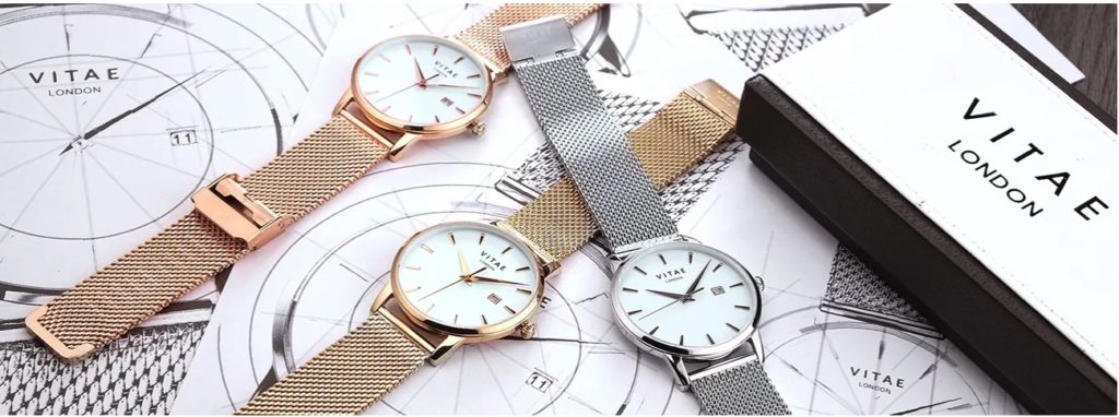 Watches by Vitae London.