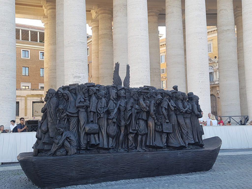 Angels Unawares - St Peter's Square, Vatican City.