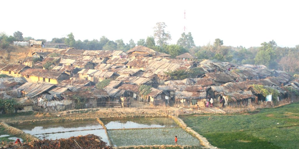 Kutupalong refugee camp in Bangladesh. Image: Maaz Hussain