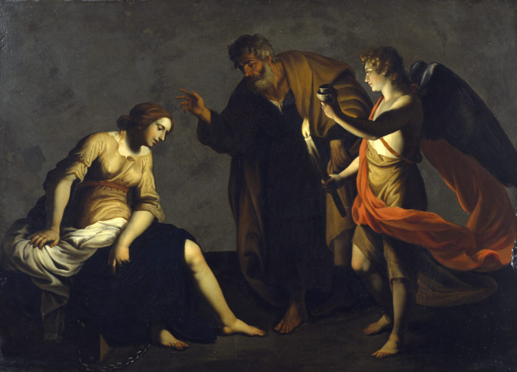 Artist: Alessandro Turchi. Image: Walters Art Museum.