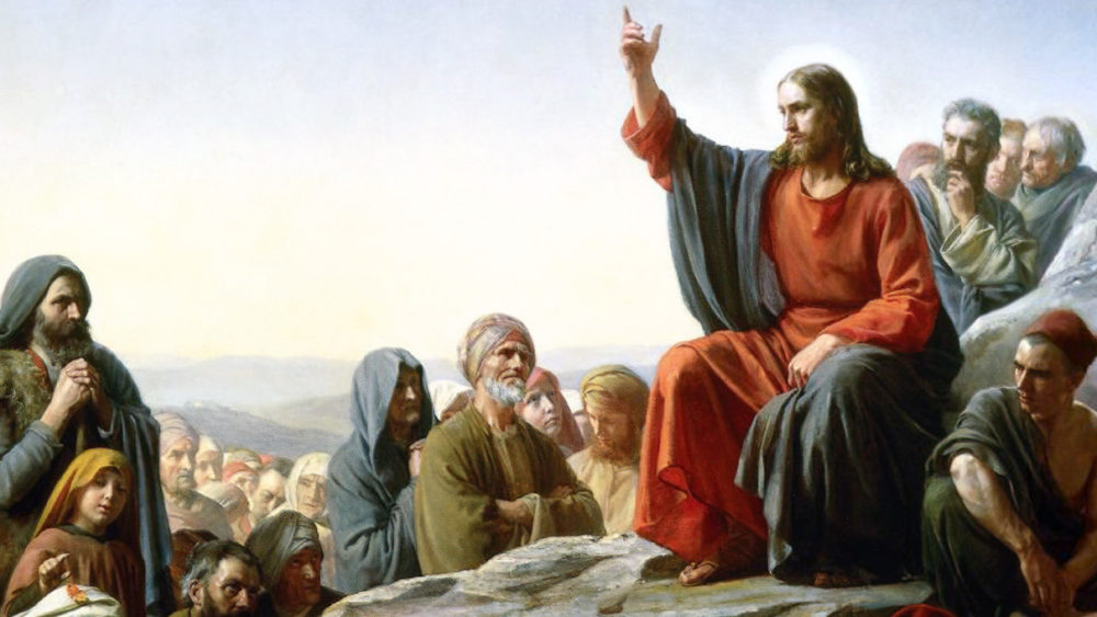 The Sermon on the Mount Carl Bloch