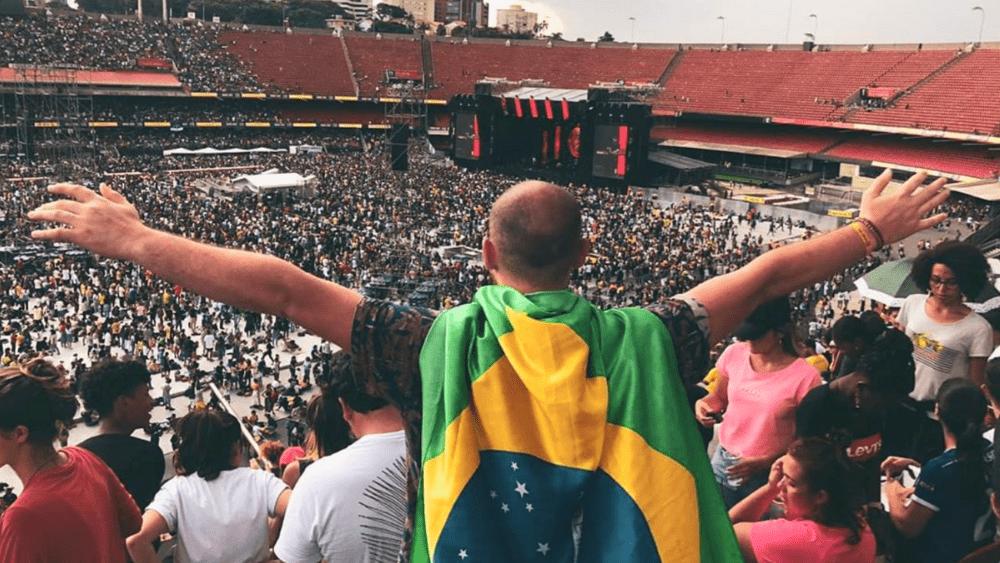 The Send Brasil 2020. Image: @looreentz / Instagram