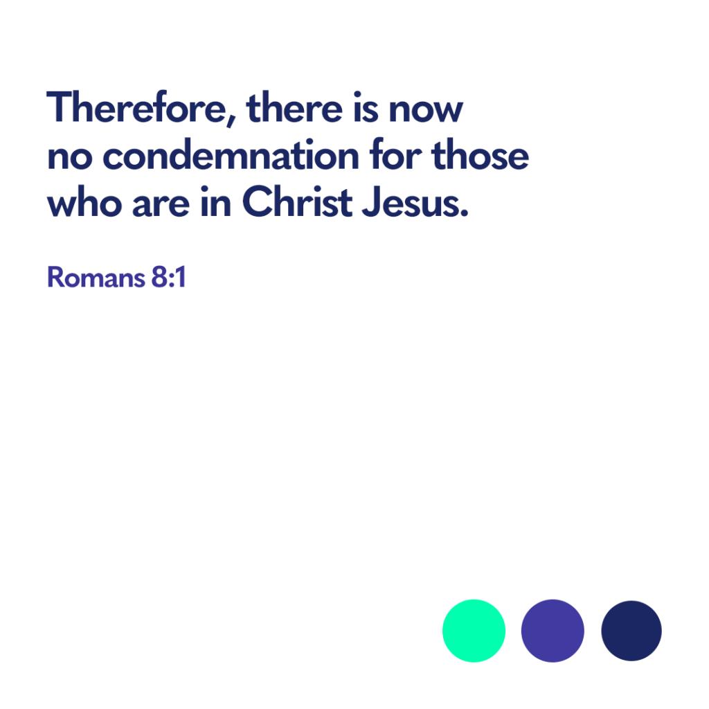 Bible verse Romans 8:1