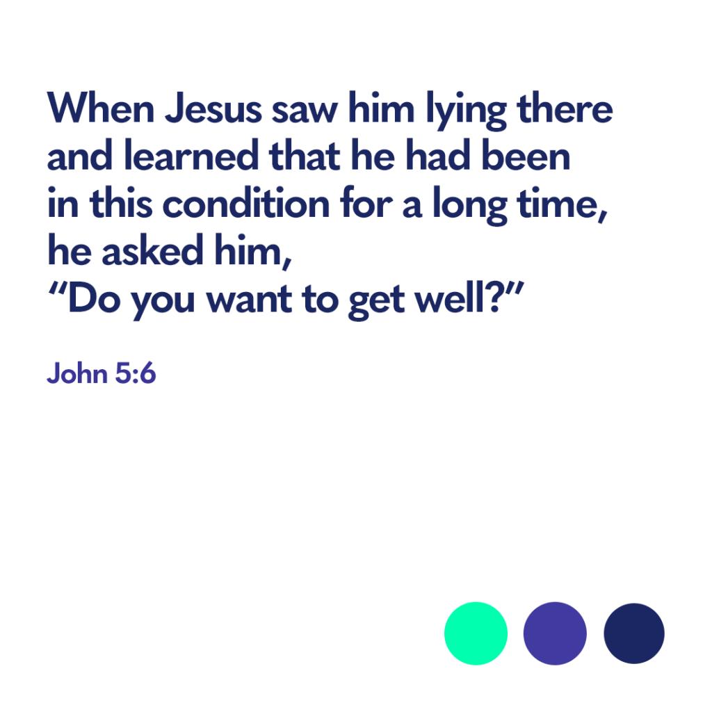Bible verse John 5:6