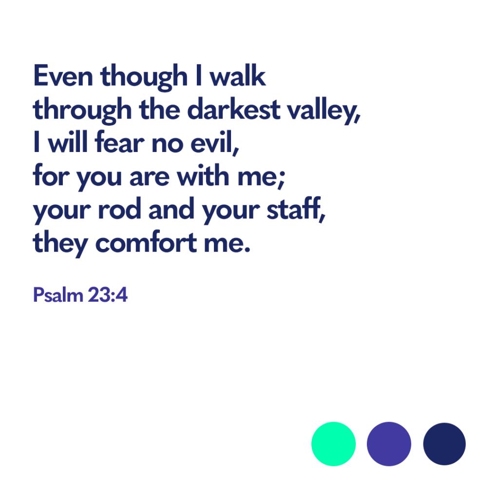 Bible verse Psalm 23:4