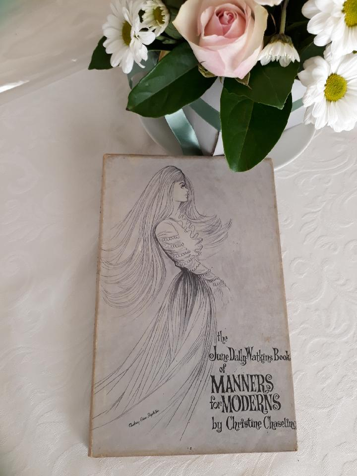 My mum's prized copy of 'Manners for Moderns'