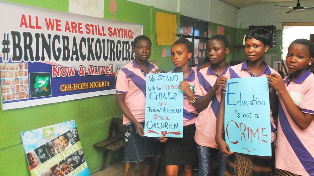 Nigerian girls kindapped Boko Haram