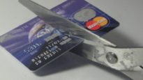 credit card cut up