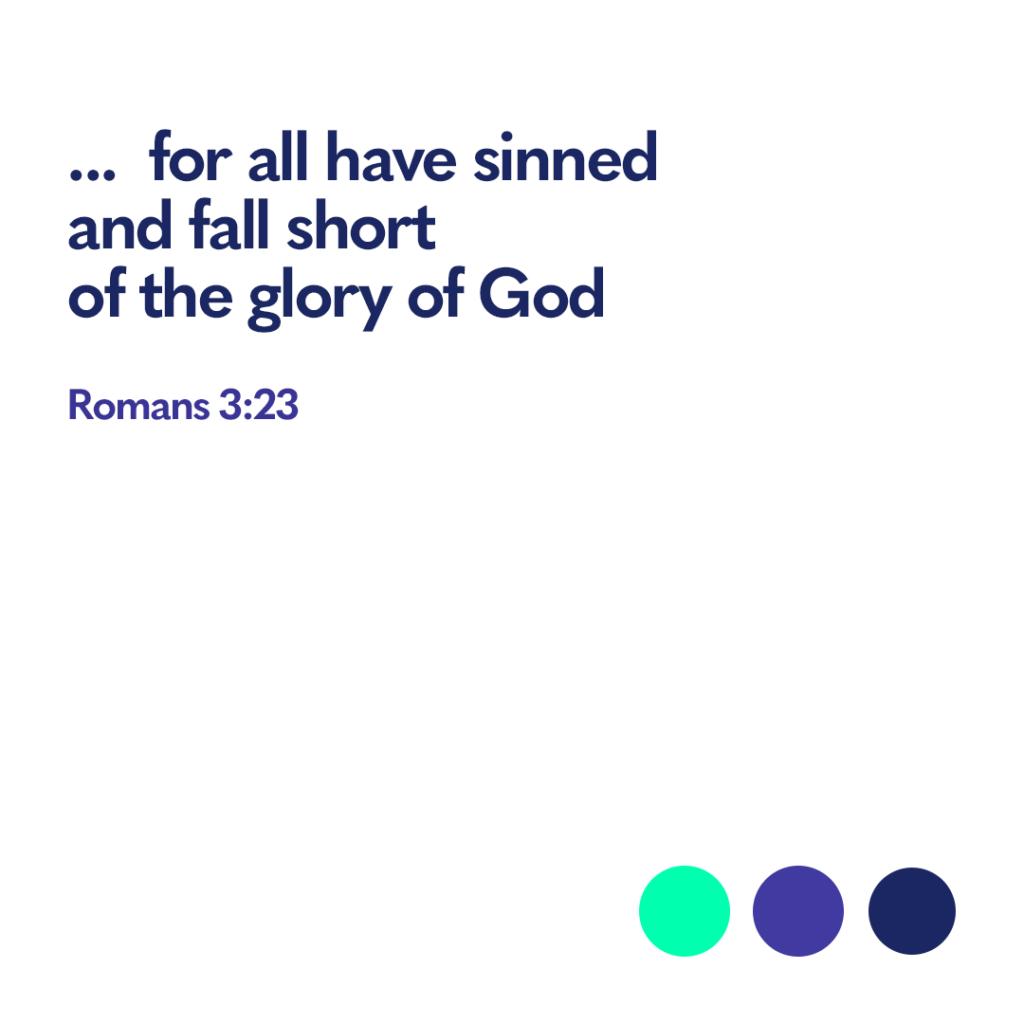 Bible verse Romans 3:23