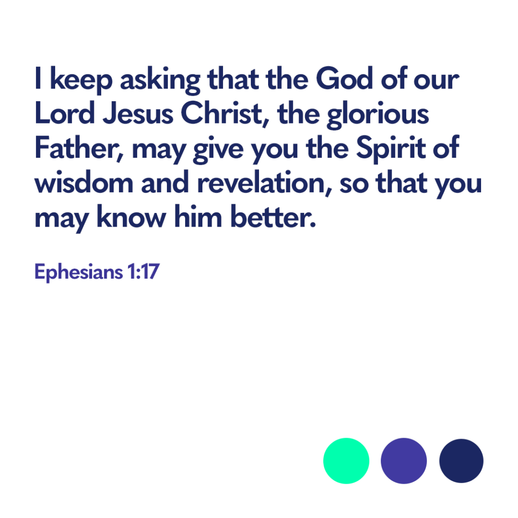 Bible verse Ephesians 1:17
