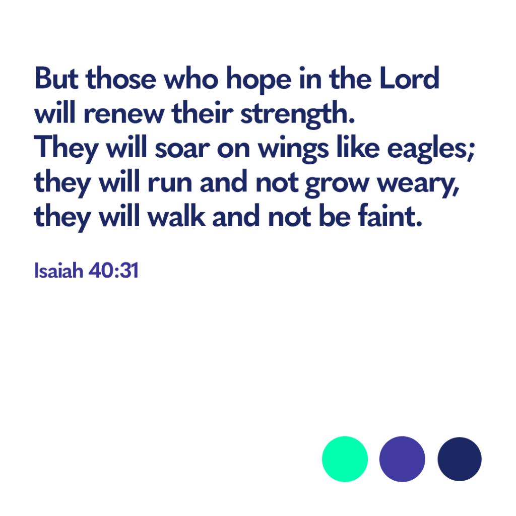 Bible verse Isaiah 40:31
