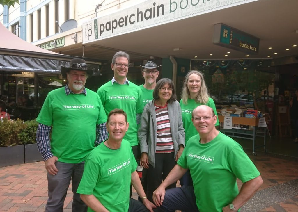 Way of Life campaign in Manuka, ACT