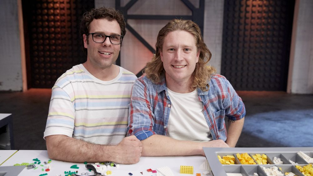 Trent and Josh on Lego Masters Series 2