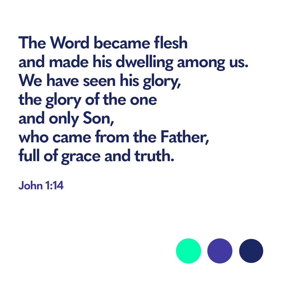 Bible verse John 1:14