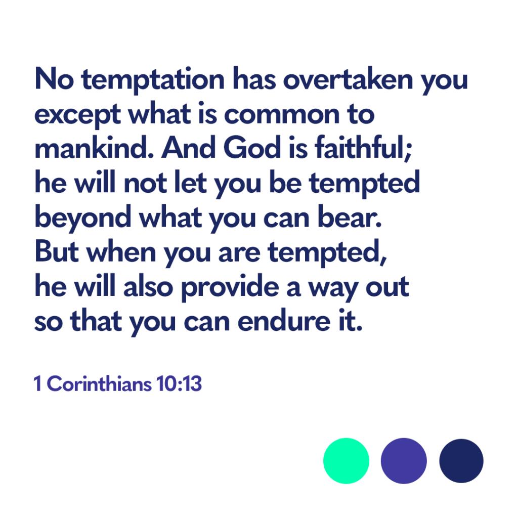 Bible verse 1 Corinthians 10:13