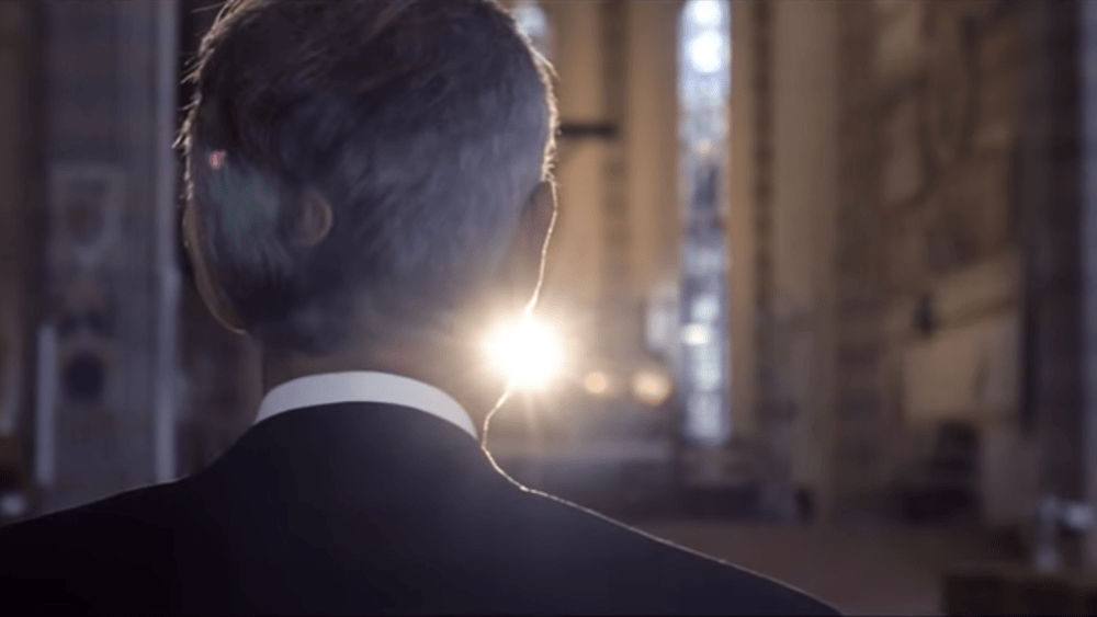 Opera star Andrea Bocelli will stream a solo performance in the Duomo cathedral of Milan on Easter Sunday via YouTube
