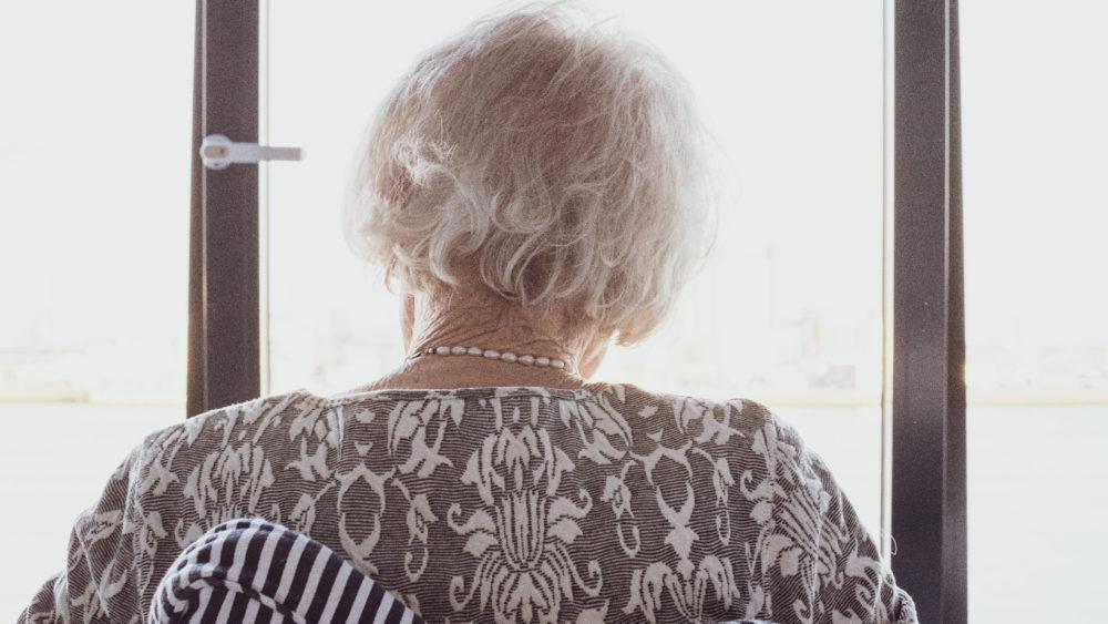 older person alone