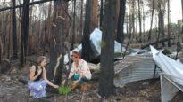 Chrissy Guinery bushfire