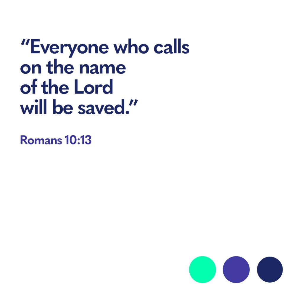 Romans 10 13 Bible verse